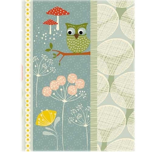 Softcover Heft A5 Fox & Owl