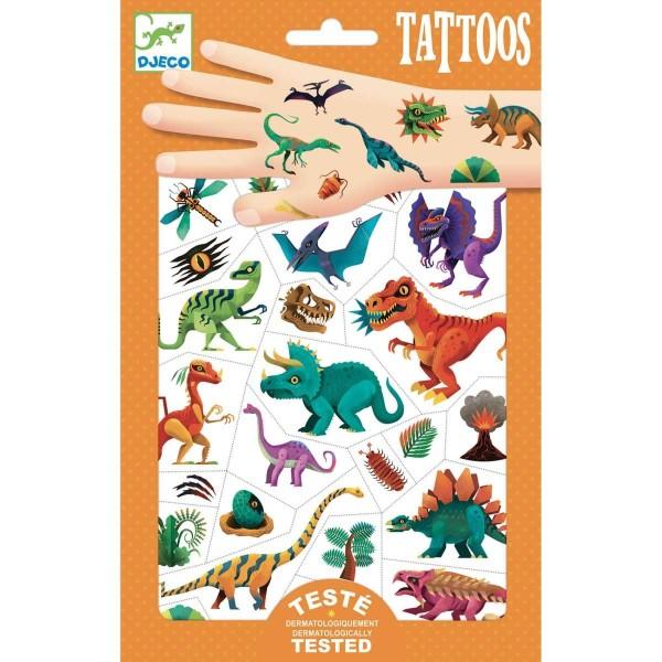 Tattoos: Dino Club