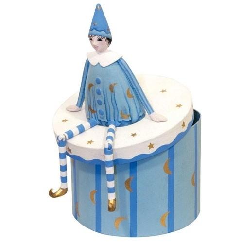 Box Elf Blau