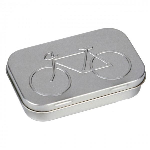 Fahrrad Flickzeug Ersthelfer silbern
