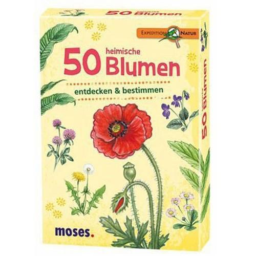 MOSES VERLAG 50 heimische Blumen
