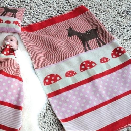 Organic Babydecke Bambi