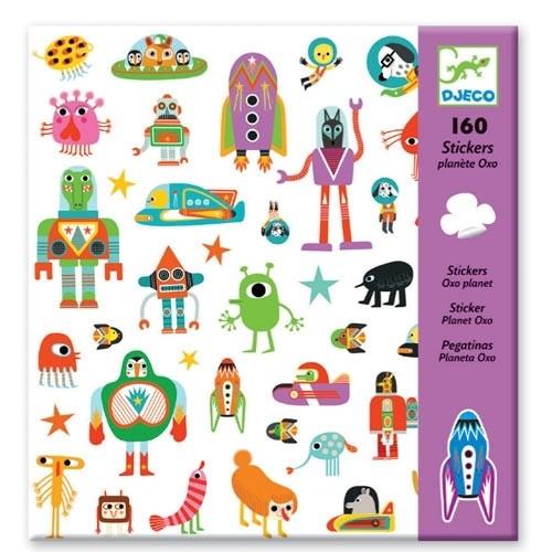 Sticker: Planet Oxo