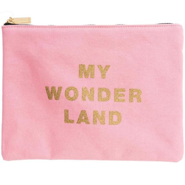 Textil Tasche rosa
