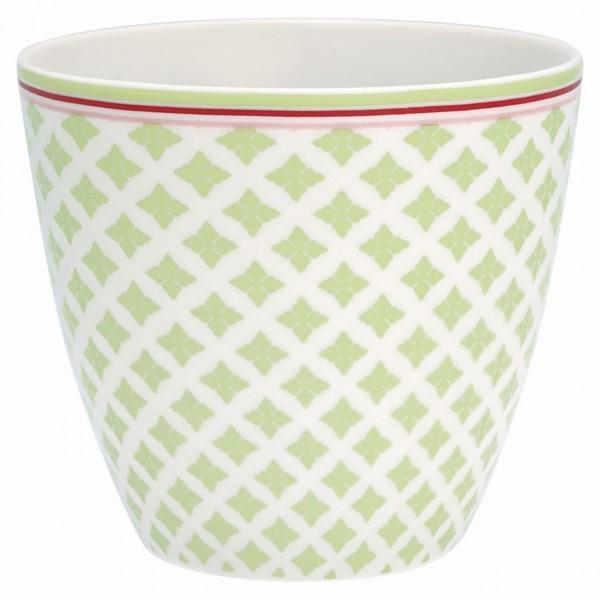 Latte Becher Sasha green