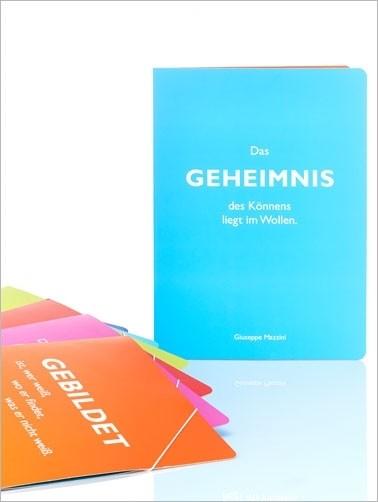 "Sammelmappe Mazzini ""Geheimnis"" A4"