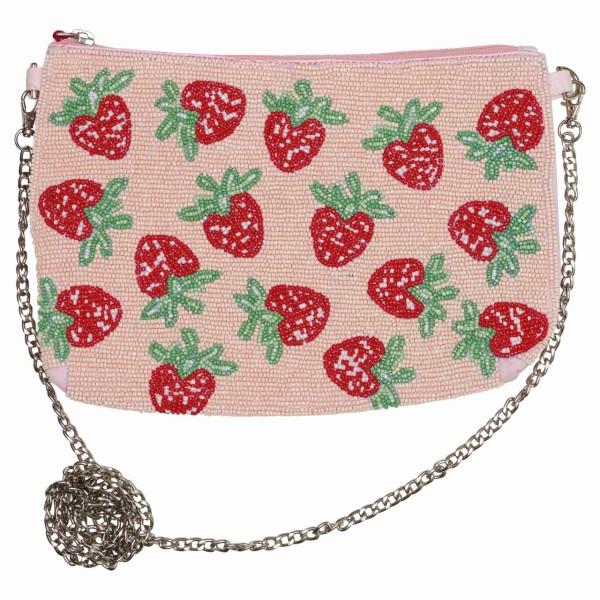 Handtasche Strawberry pale pink