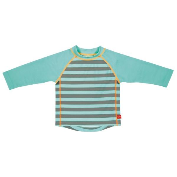 Langarm Bade Tshirt boys, 18 Monate, striped aqua