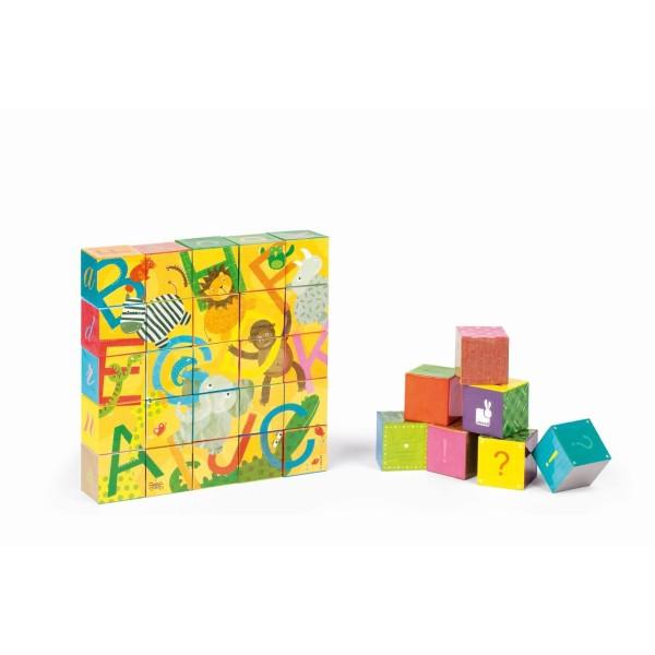 Kubkid Würfelpuzzle Alphabet