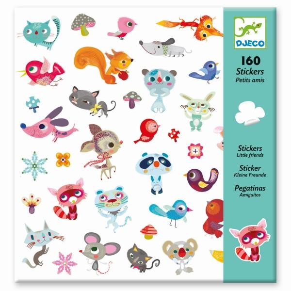 160 Sticker: Kleine Freunde