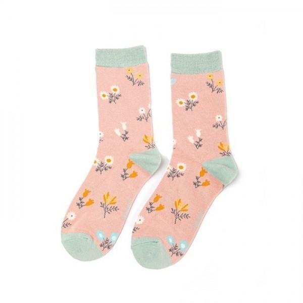BLOSSIFYCOM HUISKAMERGELU Socken Dainty Flowers