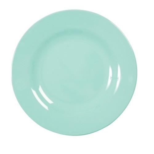 Melamin Teller - Dark Mint klein