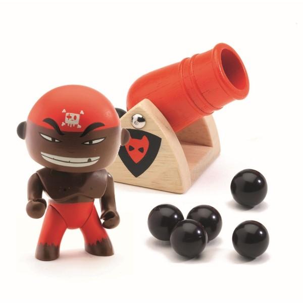 DJECO Arty Toys Pirat Djambo & Big boom