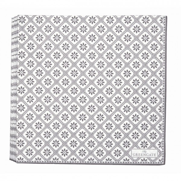 Papierserviette Bianca warm grey
