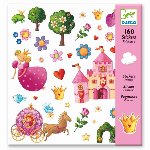 160 Sticker Prinzessin Marguerite