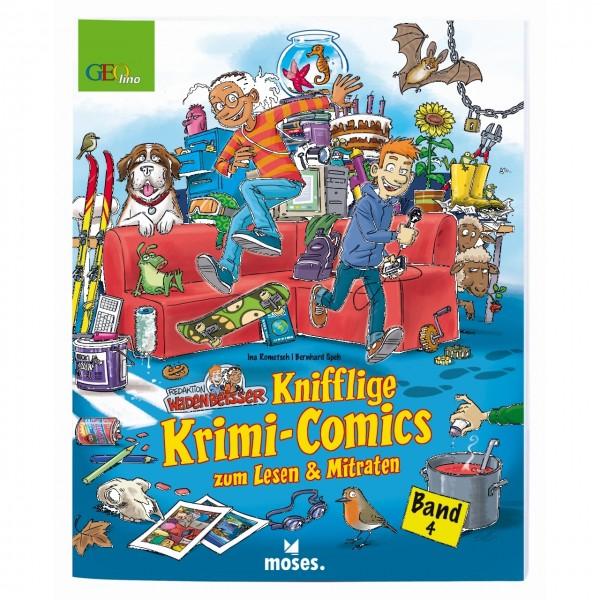 Wadenbeißer Knifflige Krimi-Comics
