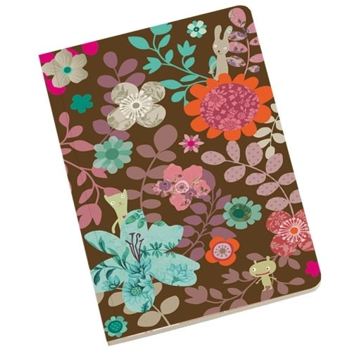 Softcover Notizbuch Blumen