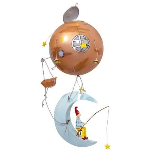 Mobile Schlumpeter Mond