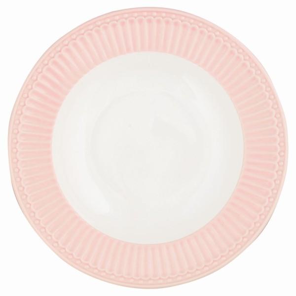 Tiefer Teller Alice pale pink