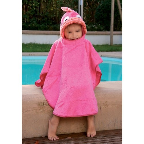 Badeponcho Fisch