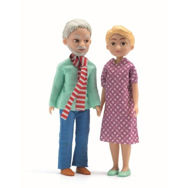 Puppenhaus: Großeltern