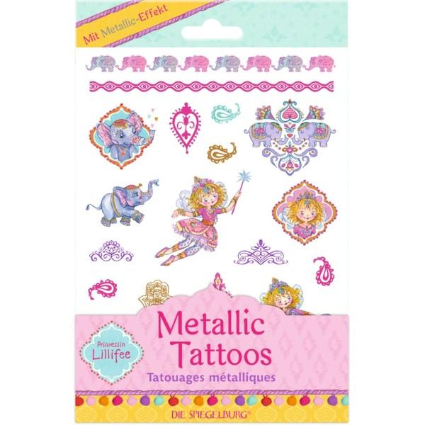Metallic Tattoos Prinzessin Lillifee Orient