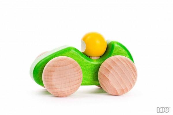 Rennwagen klein grün