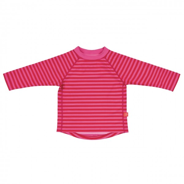 Long Sleeve Rashguard girls, 18 Monate, pink stripes
