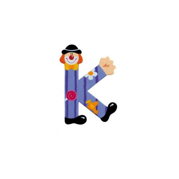 Buchstabe Clown K