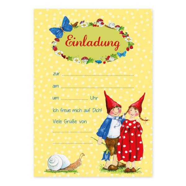 GRAETZ VERLAG Einladungskarten Pippa&Pelle