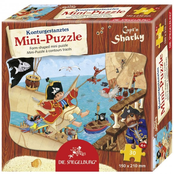 Minipuzzle Piratenangriff Capt''n Sharky