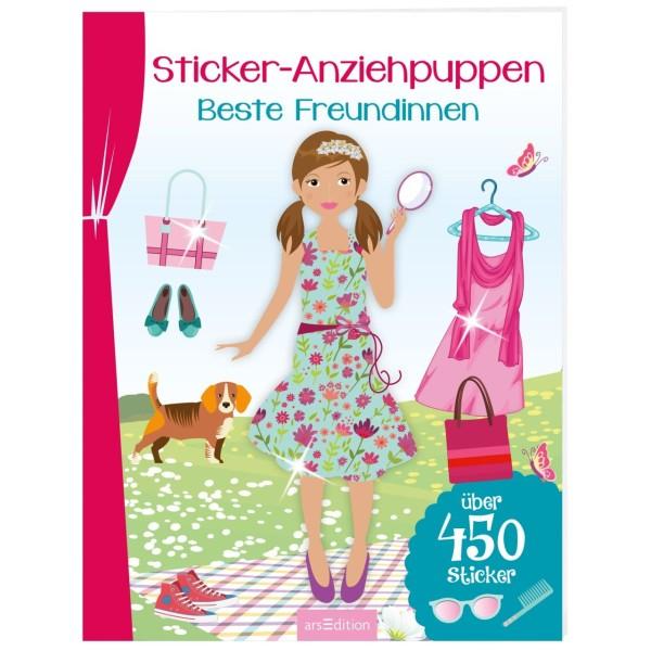 Sticker-Anziehpuppen - Beste Freundinnen
