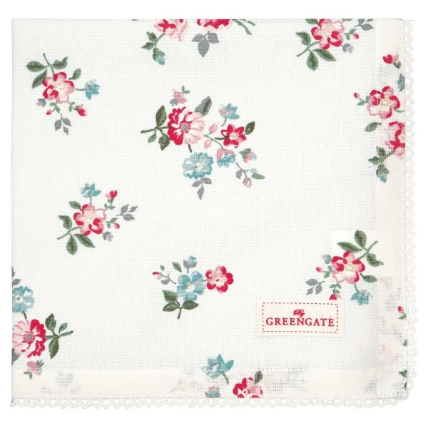 Serviette Sonia white