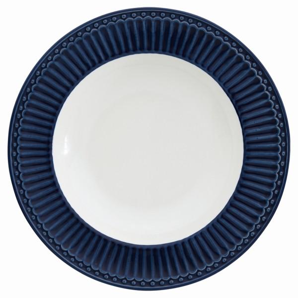Tiefer Teller Alice dark blue