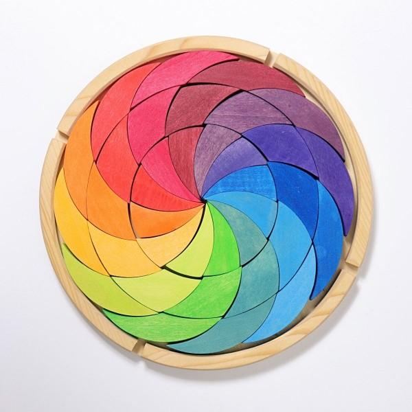 Bauspiel Farbenrad Regenbogen