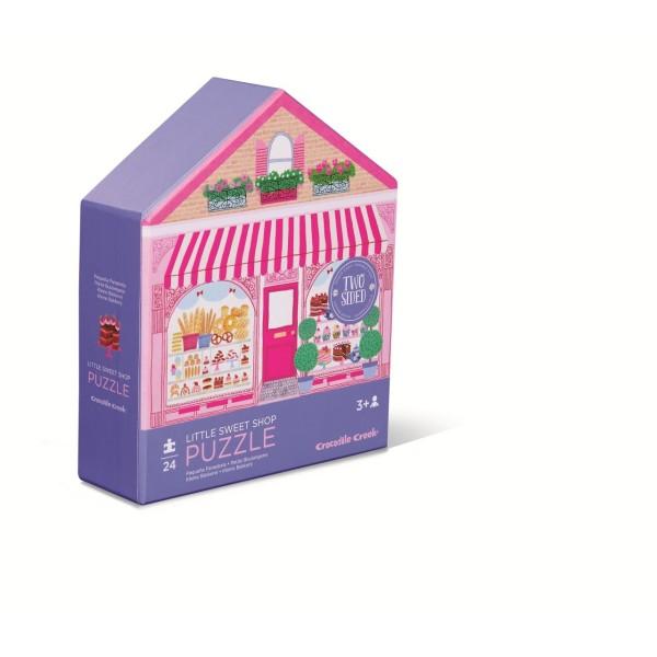 Wende-Puzzle Süßigkeiten-Laden