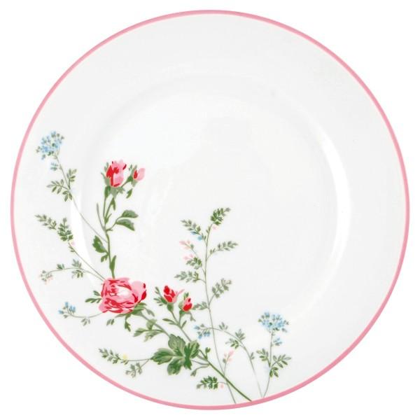 GREENGATE Dinner Teller Constance white