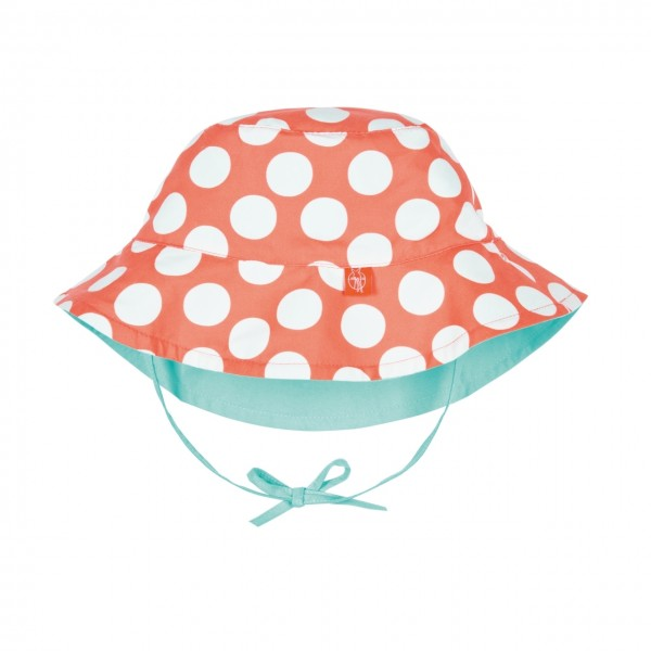 Sun Protection Bucket Hat girls, 24-36 Monate, jolly dots