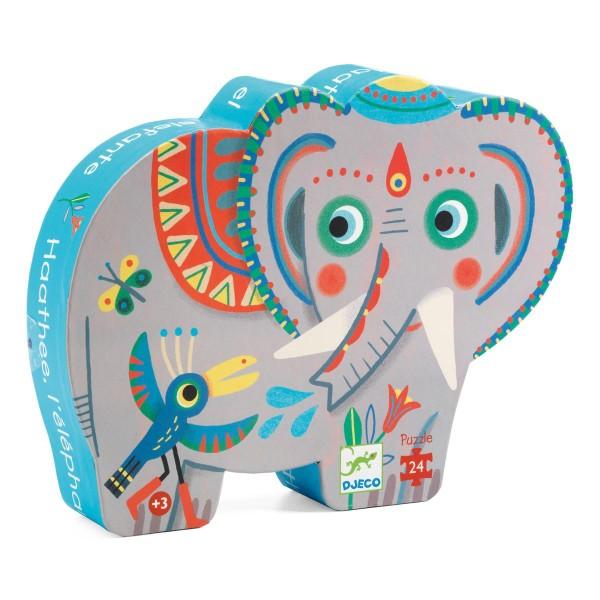 Puzzle Haathee der Elefant - 24 Teilen