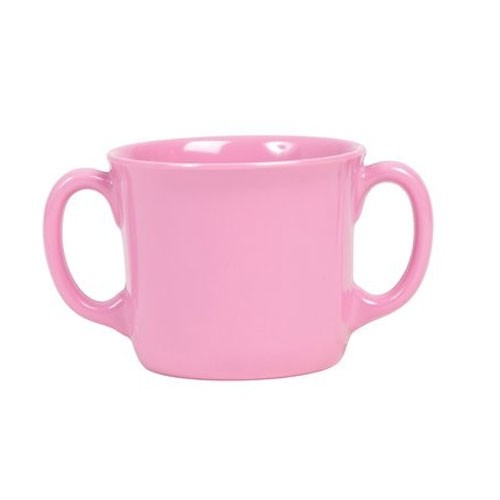 Baby Melamin Tasse pink