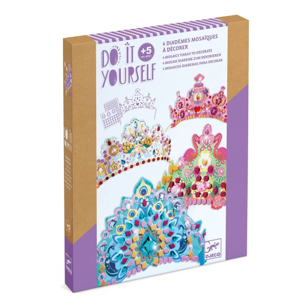 DIY: Mosaik-Diademe Prinzessin