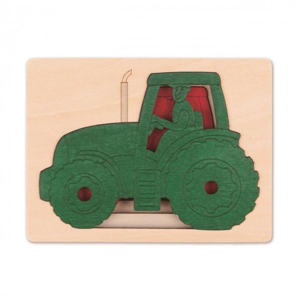 Puzzle Fünf Traktoren