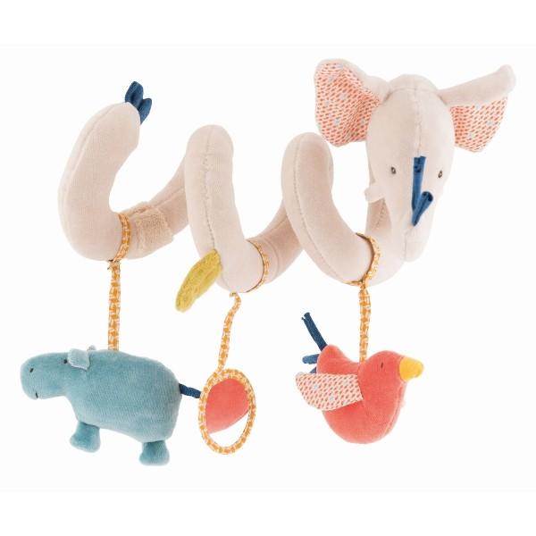Aktivitäten-Spirale Elefant Les Papoum