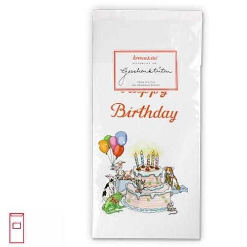 Geschenktüten Geburtstagstorte
