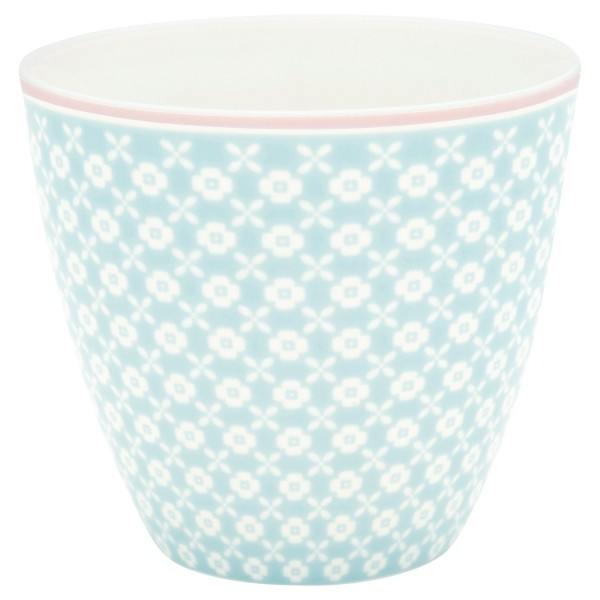 Latte cup Becher Helle pale blue