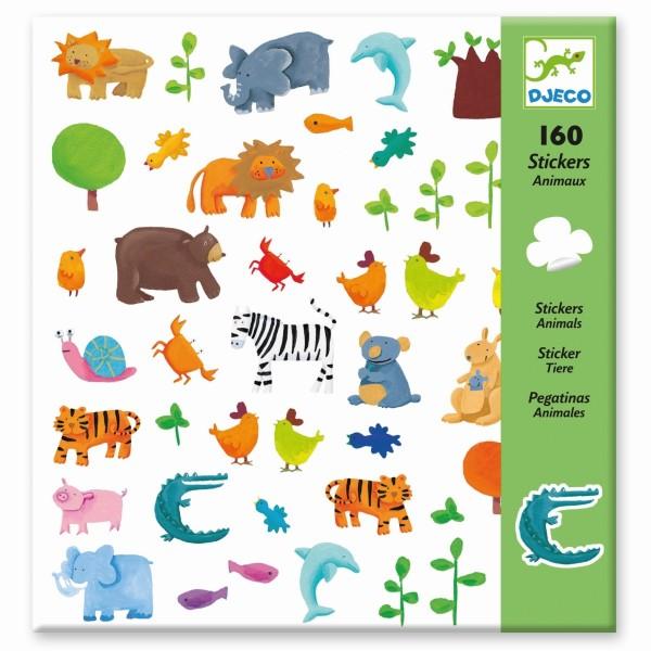 160 Sticker: Tiere