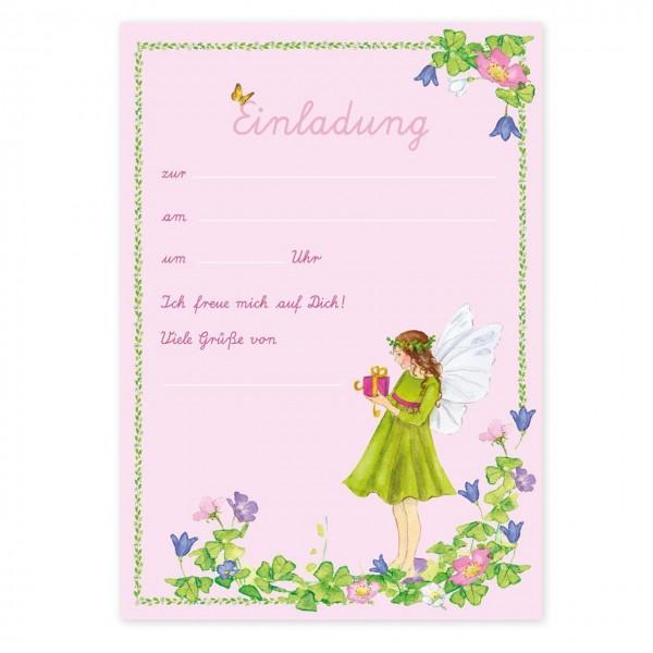 Einladungskarten Flirr die kleine Elfe