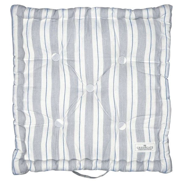 Kissen Elinor pale grey 50x50cm
