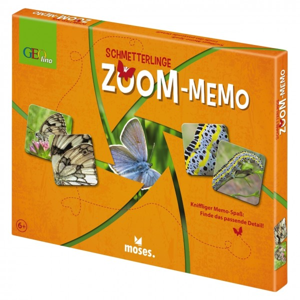 Geolino Zoom-Memo Schmetterlinge