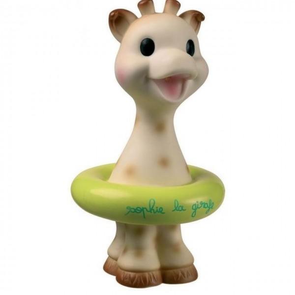 Badespielzeug Sophie la girafe grün